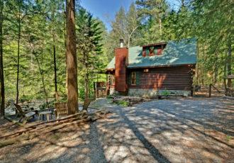 cabin rental cherokee