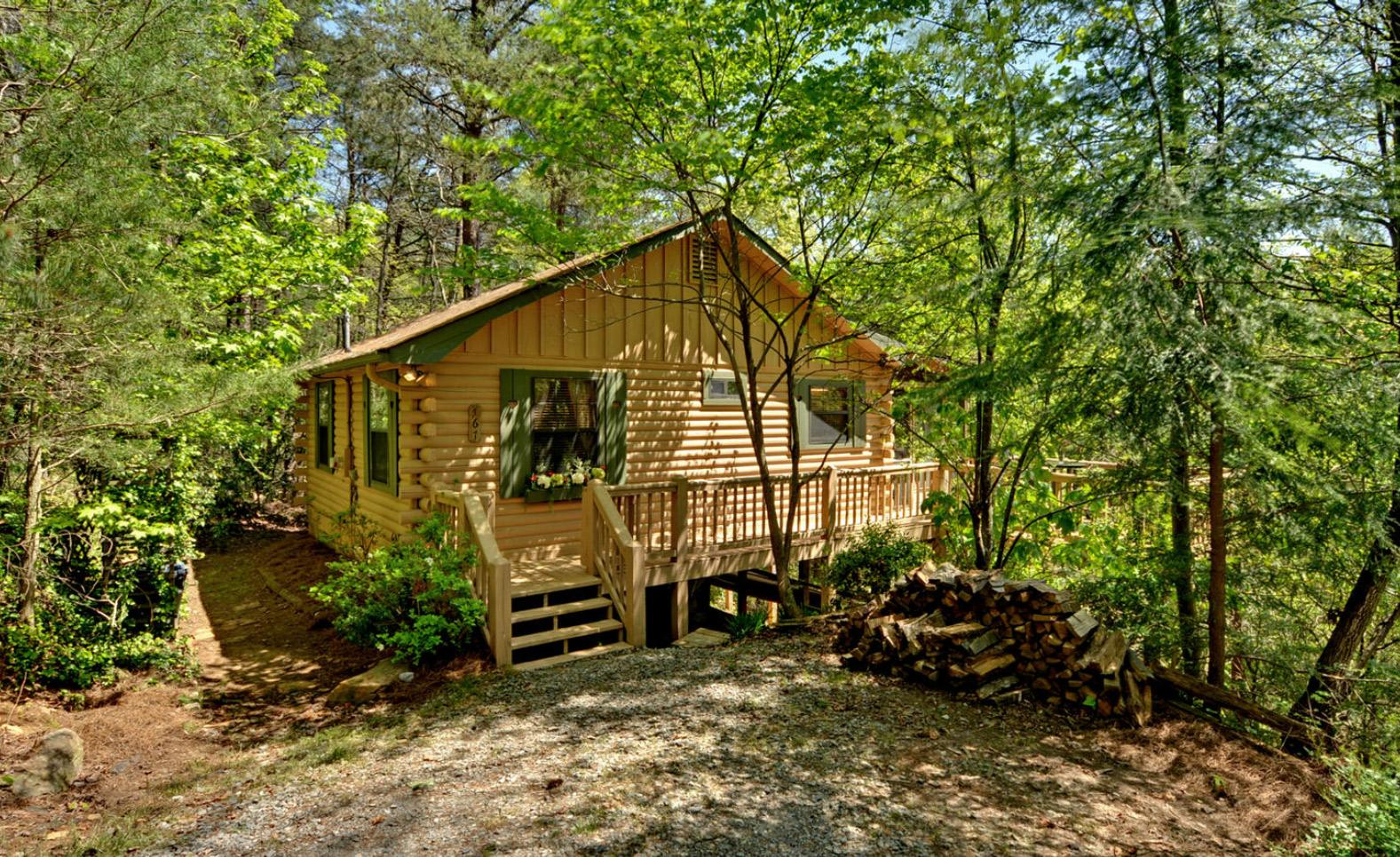 Highlands Cottage Georgia Sliding Rock Cabins 174