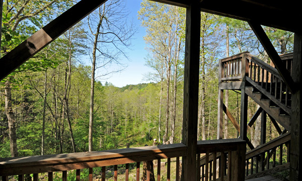 Seclusion | Sliding Rock Cabins®