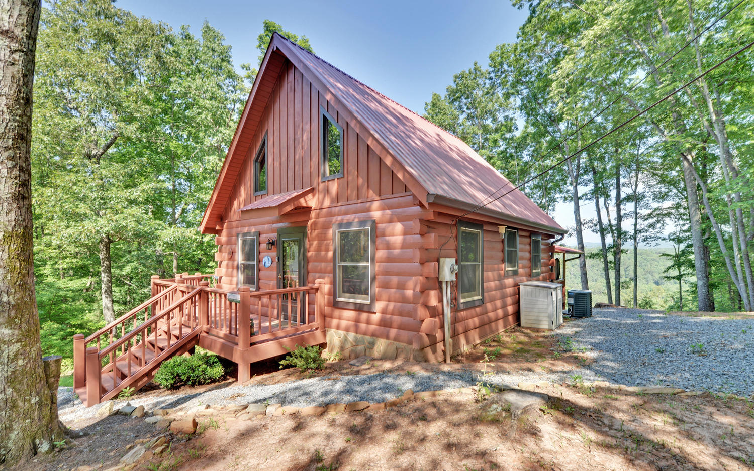 A perfect getaway north georgia vacation rental sliding for Perfect cabin